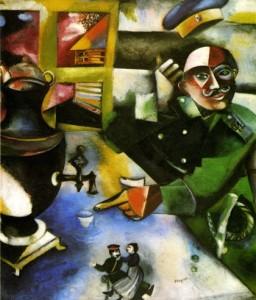 De Soldaat van Marc Chagall